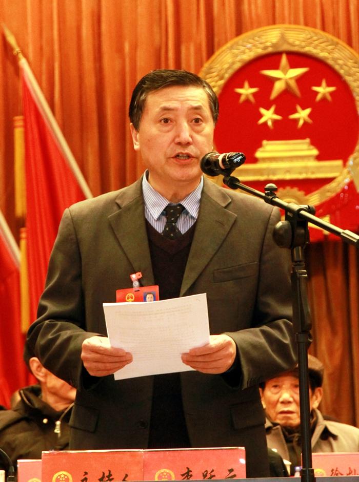 望江县第十六届人民代表大会第三次会议开幕